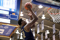DUKE, NC - FEBRUARY 15: Juwan Durham #11 of the University of Notre Dame shoots the ball during a game between Notre Dame and Duke at Cameron Indoor Stadium on February 15, 2020 in Duke, North Carolina.