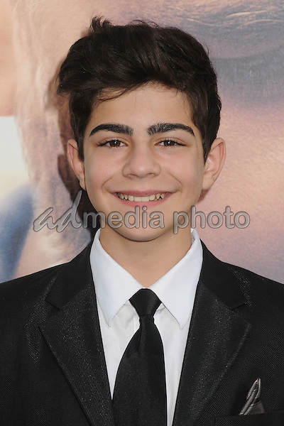 """16 April 2015 - Hollywood, California - Dylan Georgiades. """"Water Diviner"""" Los Angeles Premiere held at the TCL Chinese Theatre. Photo Credit: Byron Purvis/AdMedia"""