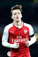 Mesut Ozil of Arsenal seen during the Premier League match between Arsenal and Huddersfield Town at the Emirates Stadium, London, England on 29 November 2017. Photo by Carlton Myrie / PRiME Media Images.