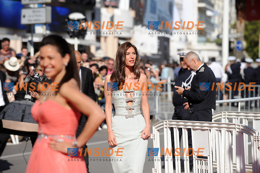 Doria Tillier. .Cannes 21/5/2013 .66mo Festival del Cinema di Cannes 2013 .Foto Panoramic / Insidefoto .ITALY ONLY
