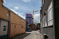 Pictured: A general view of Northampton Lane in Swansea city centre, Wales, UK.  Friday 12 July 2019 <br /> Re: General view of Swansea city centre, Wales, UK.