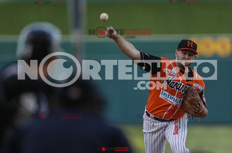 CASEY COLEMAN pitcher abridor de Naranjeros, durante 1er. encuentro de la serie de beisbol entre Tomateros vs Naranjeros. Segunda Vuelta de la Temporada 2016 2017 de la Liga Mexicana del Pacifico. (LMP)*****<br /> ©Foto: LuisGutierrrez/NortePhoto