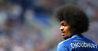 Leicester City's Hamza Choudhury<br /> <br /> Photographer Rob Newell/CameraSport<br /> <br /> The Premier League - Leicester City v West Ham United - Saturday 5th May 2018 - King Power Stadium - Leicester<br /> <br /> World Copyright &copy; 2018 CameraSport. All rights reserved. 43 Linden Ave. Countesthorpe. Leicester. England. LE8 5PG - Tel: +44 (0) 116 277 4147 - admin@camerasport.com - www.camerasport.com
