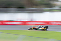 March 19, 2016: Sergio Perez (MEX) #11 from the Sahara Force India F1 team  during practise session three at the 2016 Australian Formula One Grand Prix at Albert Park, Melbourne, Australia. Photo Sydney Low