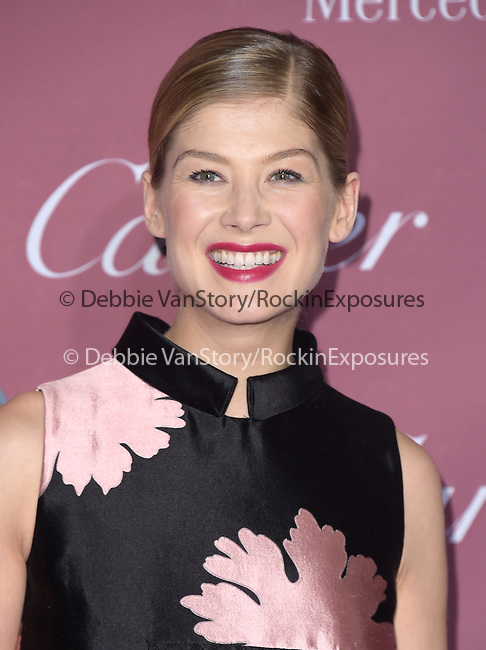 Rosamund Pike attends The The 26th Annual Palm Springs International Film Festival in Palm Springs, California on January 03,2015                                                                               © 2014 Hollywood Press Agency