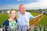Enjoying Dingle Races on Friday were from left: Eimear O'Connor Denis O'Connor.