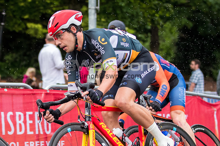 Picture by Alex Whitehead/SWpix.com - 29/05/2017 - Cycling - Tour Series Round 10, Stevenage - Raleigh GAC's Sebastian Mora Vedri.