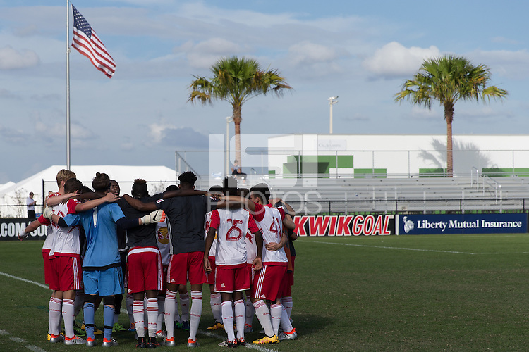 LAKEWOOD RANCH, FL - December 1, 2016: U-17/18 FC Dallas vs NY Red Bulls. 2016 Nike International Friendlies at Premier Sports Campus.