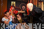 FRIGHT NIGHT: Karolina Lesniak, Christina O'Sullivan and Michelle Sheehy get the fright of their life at the Nightmare Realm Haunted house and Costume Shop in the Horan Centre in Tralee..