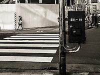 Walking in Ota, Japan 2014.
