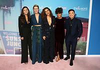 "2 December 2019 - Los Angeles, California - Arienne Mandi, Jacqueline Toboni, Sepideh Moafi, Rosanny Zayas, and Leo Cheng. Premiere Of Showtime's ""The L Word: Generation Q"" held at Regal LA Live. Photo Credit: FS/AdMedia /MediaPunch"