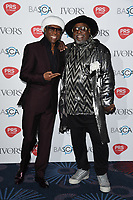 Nile Rodgers and George Clinton<br /> at The Ivor Novello Awards 2017, Grosvenor House Hotel, London. <br /> <br /> <br /> &copy;Ash Knotek  D3267  18/05/2017