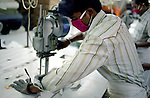 Safety gloves and masks provided to all workers in the Banga Garment Ltd supplier of H&M, Dhaka