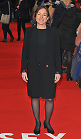 Paula Mazur at the &quot;The Guernsey Literary And Potato Peel Pie Society&quot; world film premiere, Curzon Mayfair cinema, Curzon Street, London, England, UK, on Monday 09 April 2018.<br /> CAP/CAN<br /> &copy;CAN/Capital Pictures