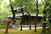 Shofukuji temple, the first Zen temple in Japan, Fukuoka city, Fukuoka prefecture, Japan, June 5, 2009.