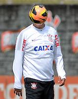 SÃO PAULO,SP, 02.09.2013 TREINO/CORINTHIANS/SP -  Tite durante treino do Corinthians no CT Joaquim Grava na zona leste de Sao Paulo. (Foto: Alan Morici /Brazil Photo Press).