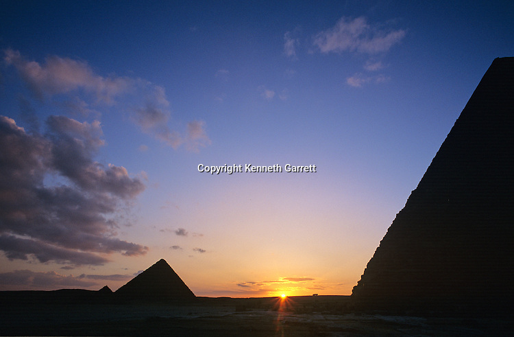 Egypt's Old Kingdom; Pyramids at Giza; Giza Plateau; Giza; Egypt