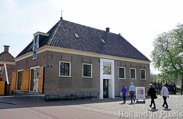 Nederland- Assen-  april 2019. Ingang van het Drents Museum in Assen. Foto Berlinda van Dam / Hollandse Hoogte