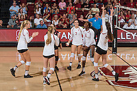 Stanford Volleyball W vs Utah, October 9, 2016