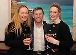 Sorcha and Treasa Weadick, Ballybunion, with hair stylist Pat O'Neill at The Cloisters Spa in The Muckross Park Hotel, Killarney first open evening of 2012 . Picture by Don MacMonagle.