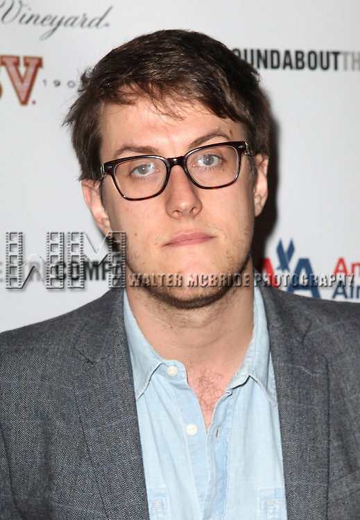 Niock Payne attending the After Party for Opening Night Performance of the Roundabout Theatre Production of  'If There Is I Haven't Found It Yet' at the Laura Pels Theatre in New York City on 9/20/2012.