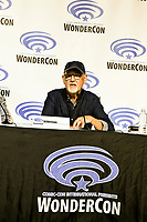 Ed Verreaux at Wondercon in Anaheim Ca. March 31, 2019