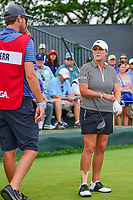 Cristie Kerr (USA) prepares to tee off on 1 during Saturday's third round of the 72nd U.S. Women's Open Championship, at Trump National Golf Club, Bedminster, New Jersey. 7/15/2017.<br /> Picture: Golffile | Ken Murray<br /> <br /> <br /> All photo usage must carry mandatory copyright credit (&copy; Golffile | Ken Murray)