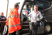 30th September 2017, The Hawthorns, West Bromwich, England; EPL Premier League football, West Bromwich Albion versus Watford; Marco Silva Manager of Watford arrives at West Bromwich Albion