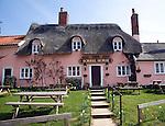 Sorrel Horse thatched pub, Shottisham, Suffolk