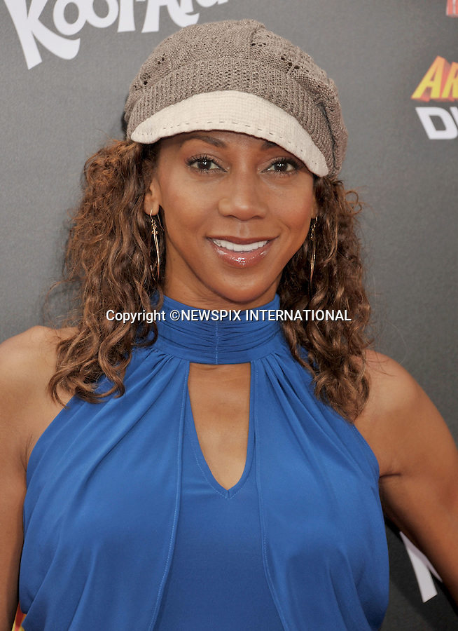"""HOLLY ROBINSON PEETE.attends the World Premiere of """"Spy Kids: All The Time In The World"""" at the Regal Cinemas, L.A. Live, Los Angeles, California_31/07/2011.Mandatory Photo Credit: ©Crosby/Newspix International. .**ALL FEES PAYABLE TO: """"NEWSPIX INTERNATIONAL""""**..PHOTO CREDIT MANDATORY!!: NEWSPIX INTERNATIONAL(Failure to credit will incur a surcharge of 100% of reproduction fees).IMMEDIATE CONFIRMATION OF USAGE REQUIRED:.Newspix International, 31 Chinnery Hill, Bishop's Stortford, ENGLAND CM23 3PS.Tel:+441279 324672  ; Fax: +441279656877.Mobile:  0777568 1153.e-mail: info@newspixinternational.co.uk"""