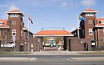 Den Haag, Exterieur van het Koning Willem II kazerne in Den Haag , Scheveningen,