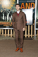 """LOS ANGELES - OCT 11:  Thomas Middleditch at the """"Zombieland Double Tap"""" Premiere at the TCL Chinese Theater on October 11, 2019 in Los Angeles, CA"""