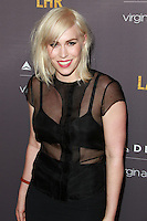 WEST HOLLYWOOD, CA, USA - OCTOBER 22: Natasha Bedingfield arrives at the Delta Air Lines And Virgin Atlantic Celebratration Of New Direct Route Between LAX And Heathrow Airports held at The London Hotel on October 22, 2014 in West Hollywood, California, United States. (Photo by David Acosta/Celebrity Monitor)