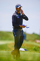 Aaron Rai (ENG) looks over his tee shot on 13 during Friday's round 2 of the 117th U.S. Open, at Erin Hills, Erin, Wisconsin. 6/16/2017.<br /> Picture: Golffile | Ken Murray<br /> <br /> <br /> All photo usage must carry mandatory copyright credit (&copy; Golffile | Ken Murray)