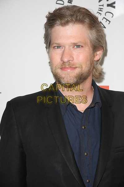 "TODD LOWE .""True Blood"" at PaleyFest 2011  Held at The Saban Theater, Beverly Hills, California, USA, 5th March 2011..portrait headshot beard facial hair  black blazer jacket blue shirt .CAP/ADM/TB.©Tommaso Boddi/AdMedia/Capital Pictures."