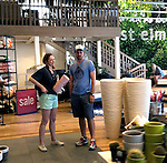 June 9th 2012  Exclusive...Judy Greer shopping at West ELM in Los Angeles with another actor guy...AbilityFilms@yahoo.com.805-427-3519.www.AbilityFilms.com..