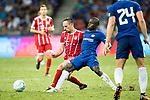 Bayern Munich Midfielder Franck Ribery (L) plays against Chelsea Midfielder N'Golo Kante (R) during the International Champions Cup match between Chelsea FC and FC Bayern Munich at National Stadium on July 25, 2017 in Singapore. Photo by Weixiang Lim / Power Sport Images