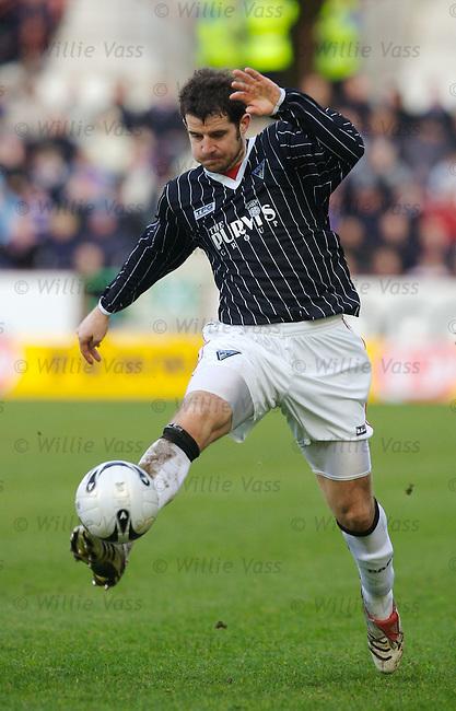 Stevie Crawford, Dunfermline.stock season 2006-2007.pic willie vass