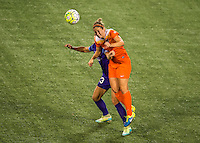 Orlando, FL - Thursday June 23, 2016: Ellie Brush during a regular season National Women's Soccer League (NWSL) match between the Orlando Pride and the Houston Dash at Camping World Stadium.