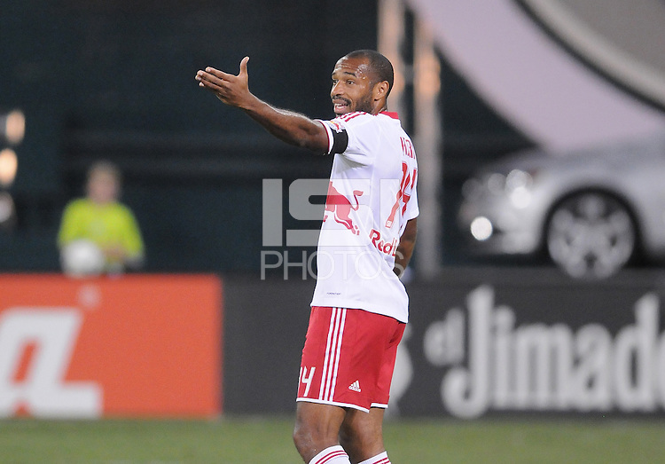 New York Red Bulls forward Thierry Henry (14) The New York Red Bulls tied D.C. United 2-2 at RFK Stadium, Wednesday August 29, 2012.