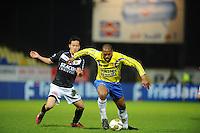VOETBAL: LEEUWARDEN: Cambuur Stadion, 10-05-2012, SC Cambuur - VVV, Nacompetitie, Eindstand 0-0, Maya Yoshida (#3), Mark de Vries (#12), ©foto Martin de Jong