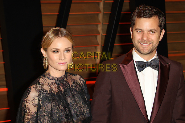 WEST HOLLYWOOD, CA - MARCH 2: Diane Kruger, Joshua Jackson attending the 2014 Vanity Fair Oscar Party in West Hollywood, California on March 2nd, 2014. <br /> CAP/ADM/UPA<br /> &copy; UPA/AdMedia/Capital Pictures