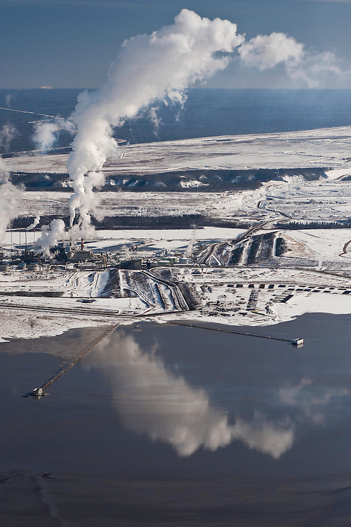 Tar Sands, March 2010 Alberta Athabasca Tar Sands or Oil Sands.
