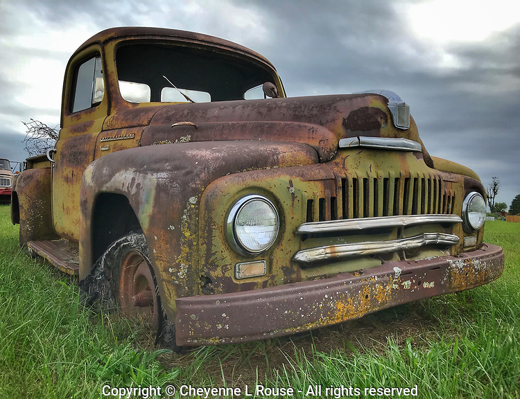 Aged to Perfection International Truck