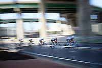 Team Ag2r-La Mondiale speeding<br /> <br /> Elite Men&rsquo;s Team Time Trial<br /> UCI Road World Championships Richmond 2015 / USA