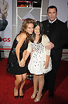 "HOLLYWOOD, CA. - November 09: Kelly Preston, Ella Bleu Travolta and John Travolta arrive at the ""Old Dogs"" Premiere at the El Capitan Theatre on November 9, 2009 in Hollywood, California."