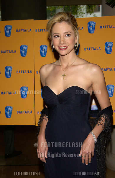 Actress MIRA SORVINO at the 11th Annual BAFTA/LA Britannia Awards at the Beverly Hills Hilton..12APR2002.  © Paul Smith / Featureflash