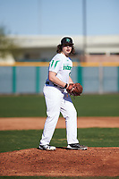 Tyler Rigot (16) of Charlotte Country Day School in Weddington, North Carolina during the Baseball Factory All-America Pre-Season Tournament, powered by Under Armour, on January 13, 2018 at Sloan Park Complex in Mesa, Arizona.  (Zachary Lucy/Four Seam Images)