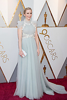Emily Blunt arrives on the red carpet of The 90th Oscars&reg; at the Dolby&reg; Theatre in Hollywood, CA on Sunday, March 4, 2018.<br /> *Editorial Use Only*<br /> CAP/PLF/AMPAS<br /> Supplied by Capital Pictures