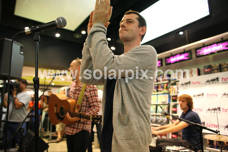 **ALL ROUND PICTURES FROM SOLARPIX.COM**.**WORLDWIDE SYNDICATION RIGHTS**.The Twang performing at HMV record store, Merry Hill Shopping Centre in the West Midlands, UK. 4 August 2009..This pic: The Twang..JOB REF: 9695 NYA     DATE: 04_08_2009.**ALL ROUND EXCLUSIVE PICTURES FROM SOLARPIX.COM